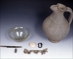 Inventory of a Germanic woman's grave from Kleinwallstadt