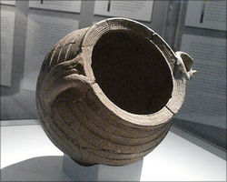 Germanic pot, found in Bürgstadt