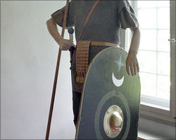 Soldier of an auxiliary troop, 1st century, Museum Schloss Steinheim