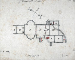 Plan of the fort bath, Reichs-Limeskommission